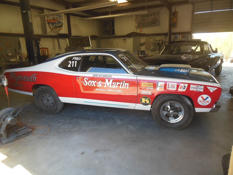 1970 McCandless pro stock duster